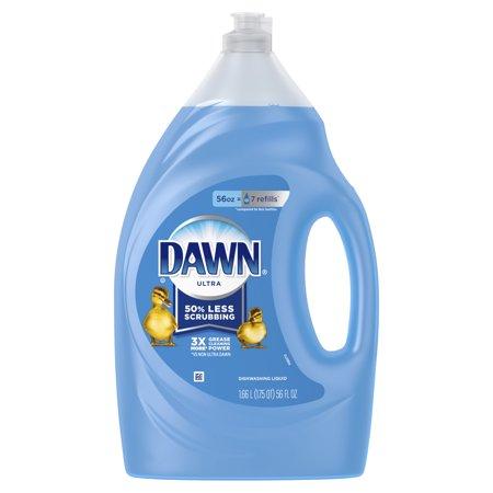 Dawn Ultra Dishwashing Liquid Dish Soap Original Scent, 56 fl (Dishwashing Foam)