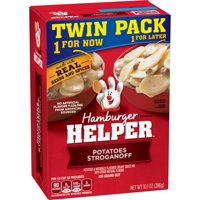 (3 Pack) Hamburger Helper Potatoes Stroganoff 10.1 Oz  (Twin Pack)