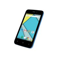 """Plum Axe 4 - Smartphone - dual-SIM - 3G - 8 GB - microSDHC slot - GSM - 4"""" - 480 x 800 pixels (233 ppi) - IPS - RAM 512 MB - 5 MP (1.3 MP front camera) - Android"""