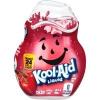 (12 Pack) Kool-Aid Cherry Liquid Drink Mix, 1.62 fl oz Bottle