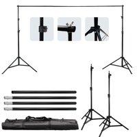 Ktaxon Background Support Stand Photo Backdrop Crossbar Kit Lighting Studio Tri pod Set