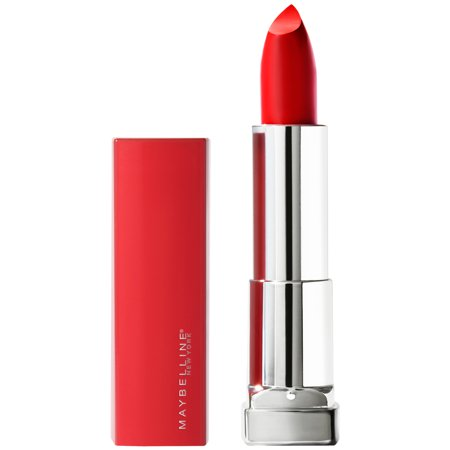 Maybelline Color Sensational Made For All Lipstick, Red For Me, Matte Red
