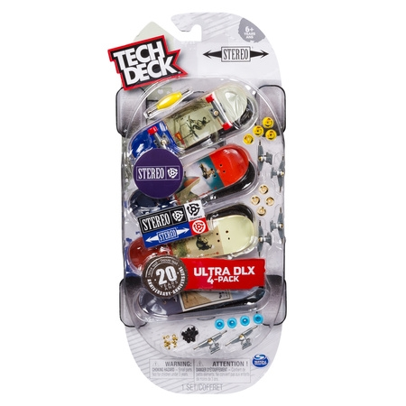 Tech Deck - 96mm Fingerboards - 4-Pack – Stereo