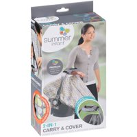 Summer Infant 2-in-1 Carry & Cover Infant Carrier Cover