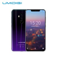 UMIDIGI Z2 Simple mobile 6.2 FHD + All Screen Helio P23 6G + 64GB F Face Unlocked Cell Phone 4G Smartphone (Black)