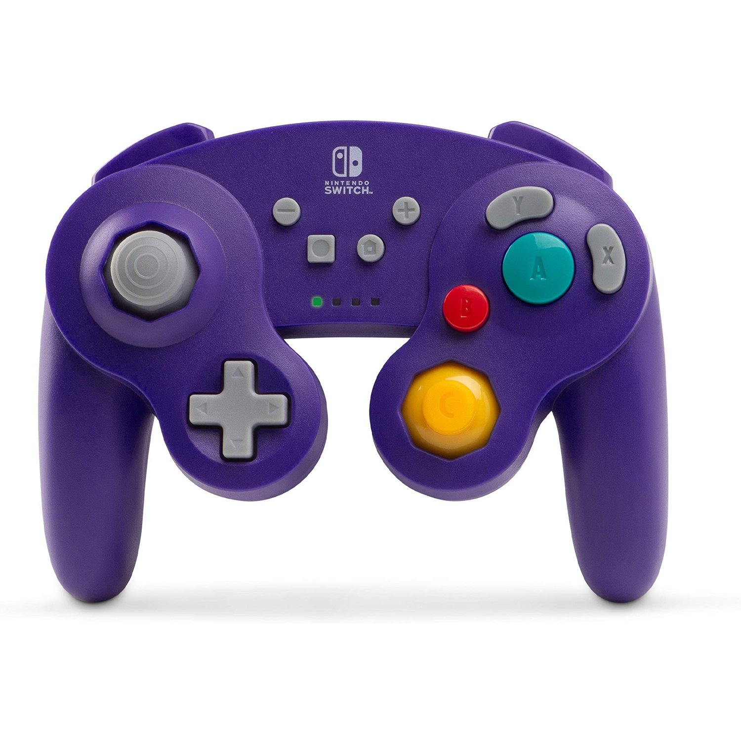 PowerA Wireless Controller for Nintendo Switch - GameCube Style: Purple (1507452-01)