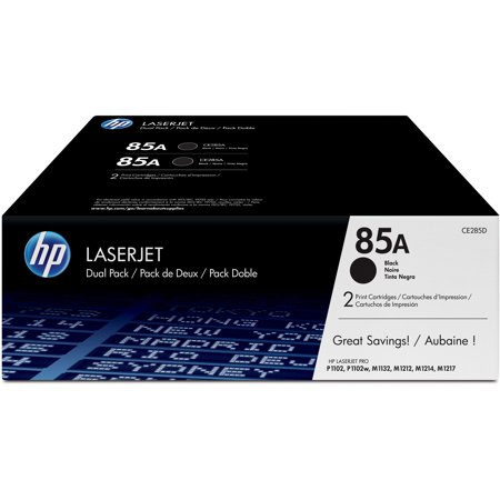 Hp Q1338a Toner Refill - HP 85A (CE285D) Black Original LJ Toner Cartridges, 2 pack
