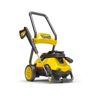 Stanley SLP 2050 PSI 2-In-1 Electric Pressure Washer For Cart or Portable Use with Spray Gun, Wand, 25 Foot High Pressure Hose, 35 Foot Power Cord, Detergent Tank, and 4 Nozzles