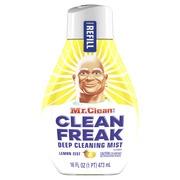 Mr. Clean, Clean Freak Deep Cleaning Mist Multi-Surface Spray, Lemon Zest Scent Refill, 1 count, 16 fl oz