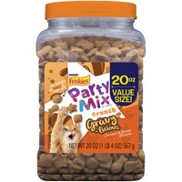 Friskies Party Mix Gravylicious Cat Treats, 20 oz. Canister
