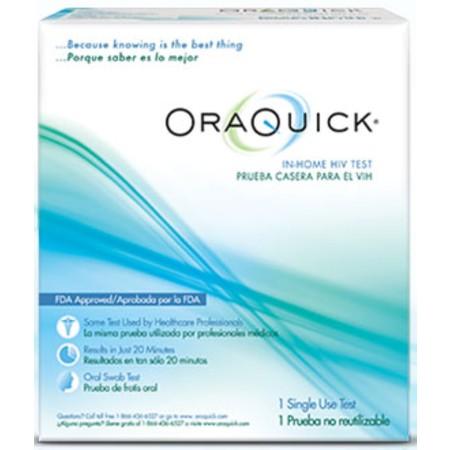 ORAQUICK In-Home HIV Test 1 ea