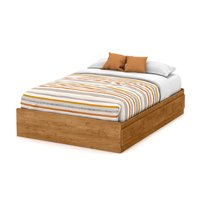 South Shore Little Treasures Full Mates Bed (54'') with 3 Drawers, Country Pine