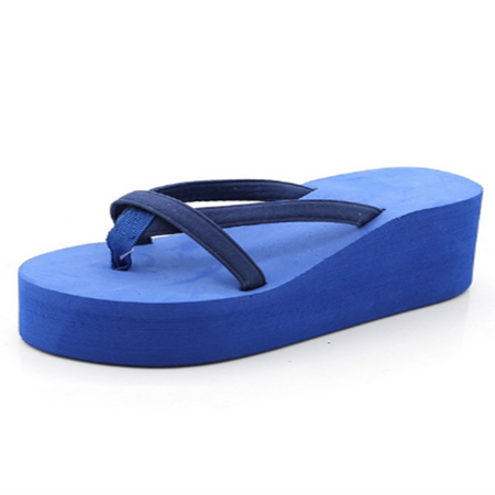 Platform Flip Flops High Heel Wedge Women Sandals