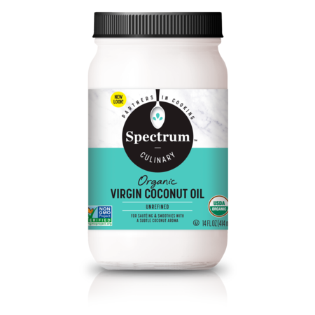 Spectrum Culinary Organic Unrefined Virgin Coconut Oil, 14 fl. oz.