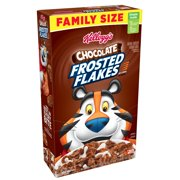 (3 pack) Kellogg's Frosted Flakes Breakfast Cereal, Chocolate, 24.7 Oz