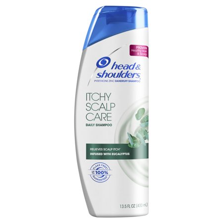 Head and Shoulders Itchy Scalp Care Daily-Use Anti-Dandruff Shampoo, 13.5 fl