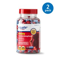 Equate Extra Strength Acetaminophen Rapid Release Gelcaps, 500 mg, 225 Ct