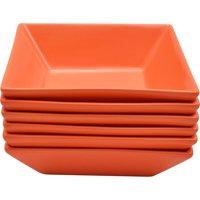 10 Strawberry Street Nova Square Bowls, Set of 6