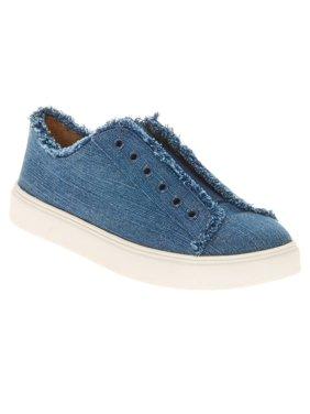 EV1 from Ellen DeGeneres Women's Laceless Sneaker (Indigo)