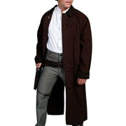 c60f3638 Scully Western Jacket Mens Old West Canvas Duster Button Front RW107