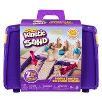 Kinetic Sand, Folding Sand Box with 2lbs of Kinetic Sand and Mold and Tools