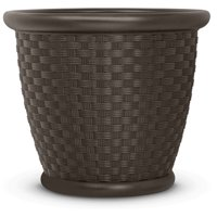 22 in. Sonora® Decorative Planter - 2 Pack, Java, P222105B92