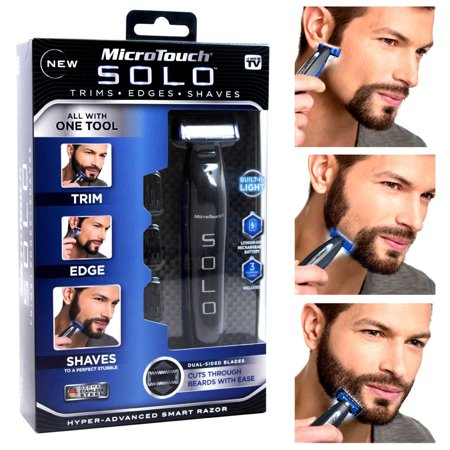 Cruzer3 Shaver - As Seen on TV MicroTouch Solo, All-in-one Rechargable Shaver