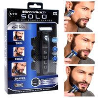 As Seen on TV MicroTouch Solo, All-in-one Rechargable Shaver