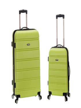 Rockland Luggage Melbourne 2 Piece Hardside Spinner Luggage Set F225