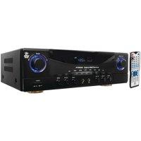 Pyle Home PT590AU 5.1-channel, 350-watt Amp Receiver With 3d Pass-through