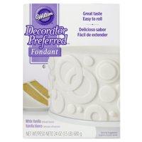 Wilton Decorator Preferred White Fondant, 24 oz. Fondant Icing