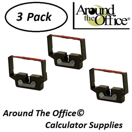 - Monroe Model 8130 Compatible CAlculator RC-601 Black & Red Ribbon Cartridge by Around The Office