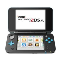 New Nintendo 2DS XL System w/ Mario Kart 7 Pre-installed, Black & Turquoise, JANSBADB