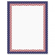f908d38891b5 Patriotic Banner Patriotic Letter Papers - Set of 25