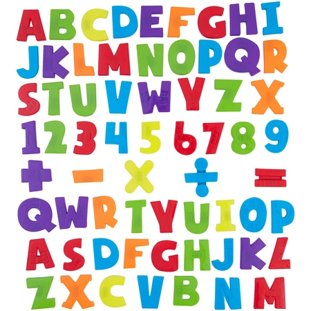 Spark. Create. Imagine. 120-Piece Magnetic Letters and Numbers (Learning Magnets)