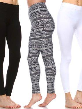 Women's Pack of 3 Leggings