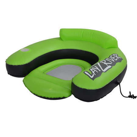 Blue Wave Sports LayZRiver Inflatable Swim Lounge River Float - Inflatable Sports