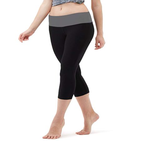 Active Workout Capri Leggings, Yoga Pants For Women