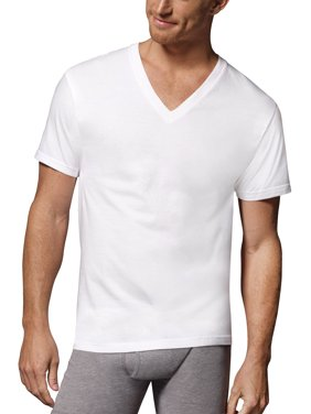 Big and Tall Men's 3 Pack V-Neck