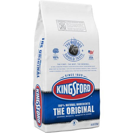 (2 pack) Kingsford Original Charcoal Briquettes, BBQ Charcoal for Grilling - 16 Pounds