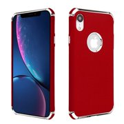 c36abb7c0a4 Apple iPhone XR (6.1 inch) Phone Case Tuff Hybrid Shockproof Armor Silicone  Rubber Rugged