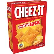 (2 Pack) Cheez-It Cheddar Jack Baked Snack Crackers 12.4 oz. Box