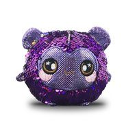 """Squeezamals, Shimmeez Spunky Sparkle Monkey - 3.5"""" Super-Squishy Foamed Stuffed Animals w/ two-sided sequins - Walmart EXCLUSIVE!"""