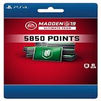Madden NFL 19 5,850 Madden Points Pack, EA Sports, Playstation 4, [Digital Download]