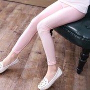 58cbe053de124 Girls Leggings New Arrival 2017 Autumn Spring Kids Ankle Length Leggings  Baby Girls Luster Pencil Pants