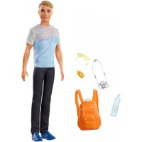 Barbie Ken Travel Doll with 5 Tourist-Themed Accessories