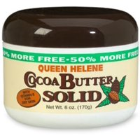 QUEEN HELENE Cocoa Butter Solid 6 oz (Pack of 6)