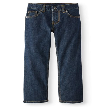 Wonder Nation Relaxed Denim Jeans (Little Boys, Big Boys, & (Long Sleeve Kids Jeans)