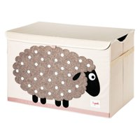 3 Sprouts Toy Chest - Sheep