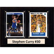 60c1990d409 C I Collectables NBA 6x8 Stephen Curry Golden State Warriors 2-Card Plaque